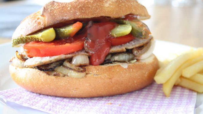 Bratwurst Burger